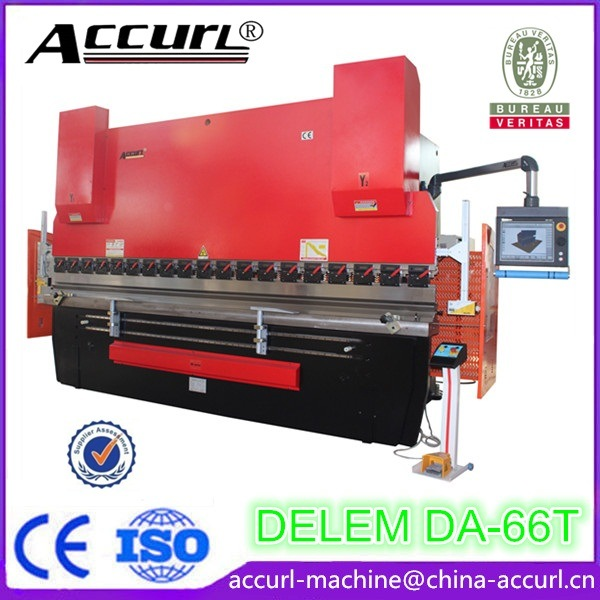 Delem Da52s MB8-80t-2500 Hydraulic CNC Press Brake for Metal