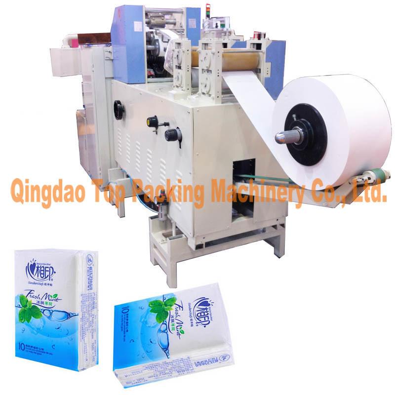 10 Bags Pocket Tissue Paper Napkin Packaging Machine