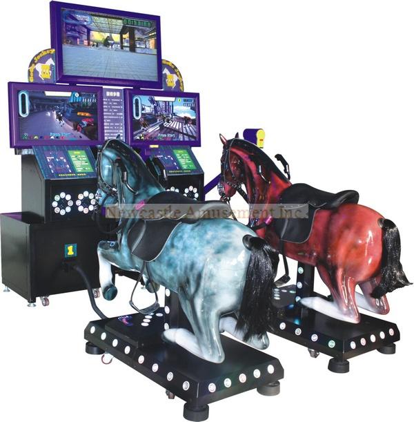 Game Go Go Jockey III Horse Racing Arcade Game Machine