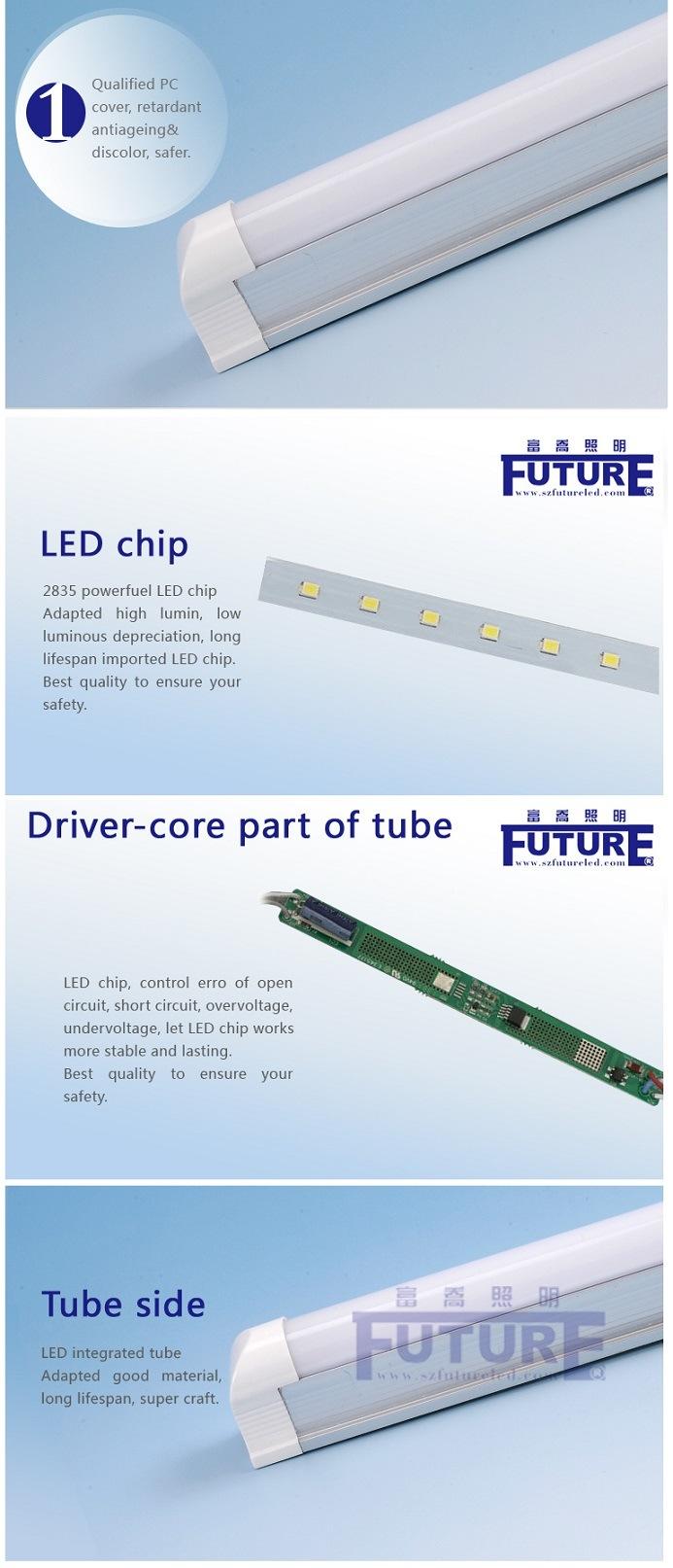 0.6m Home Tube Light T8 Tube/9W LED T8 Tube Lights