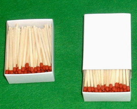 Anywhere Striker Matches (Friction Matches, Lucifer Matches ...
