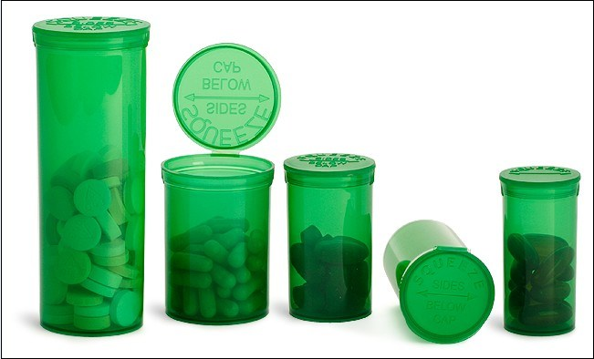 Medical Pop up Vials 13DRAM, 19DRAM, 30DRAM, 60DRAM Squeeze Pop Top Bottle