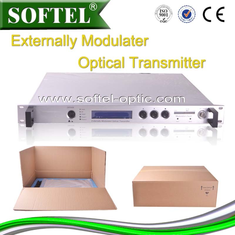 Top Class Fiber Optical Transmitter 1550nm