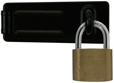 High Quality Unique Shape Brass Padlock