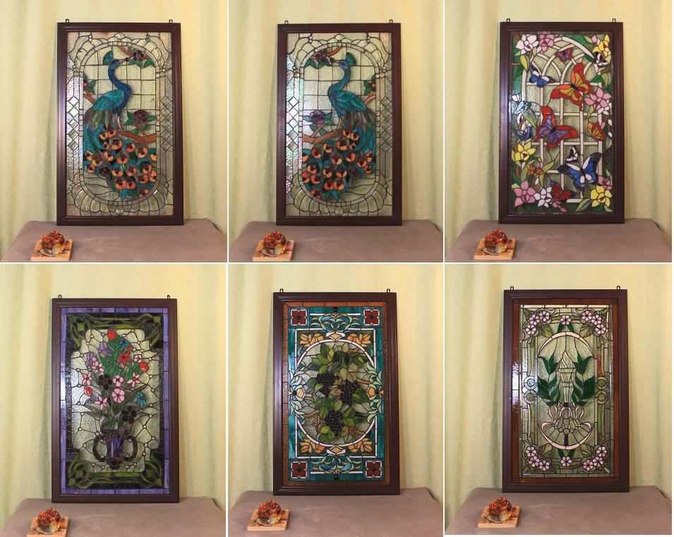 Tiffany Stained Glass Windows and Panels