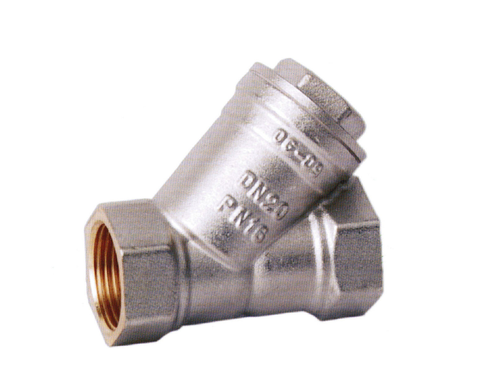 China brass strainer valve jt str