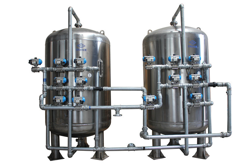Industrial Filtration Equipment : China industrial sand filters water treatment equipment