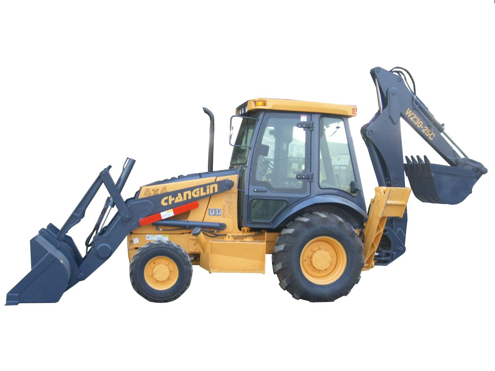 China WZ30-25C Backhoe Loader - China Backhoe Loader, Loaders