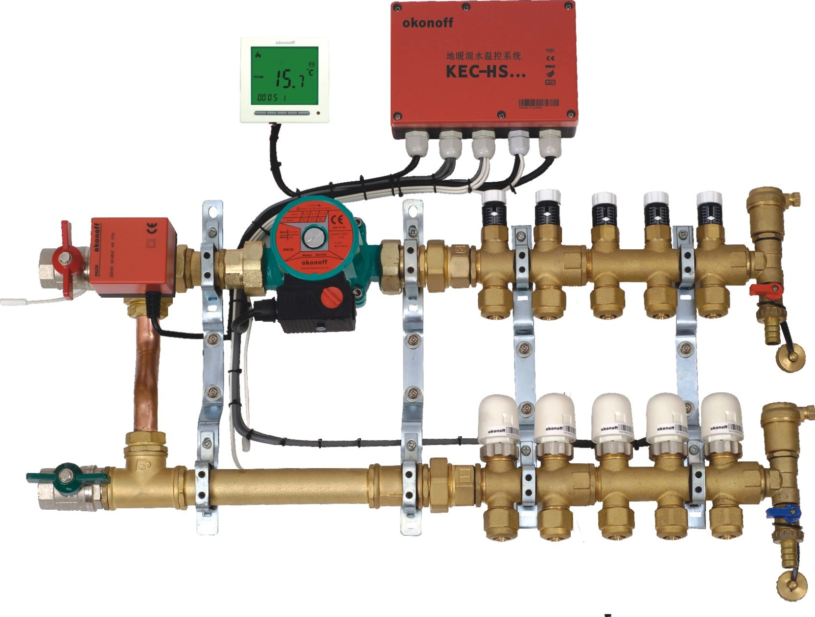 Armstrong offers both a complete system and a modular component solution to mixed water temperature control across the entire Institutional and Industrial Hot