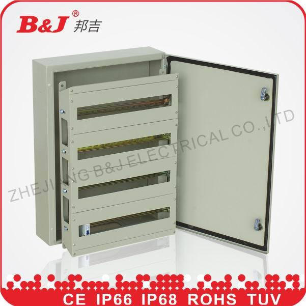DIN Rail Distribution Enclosure with Module Kit