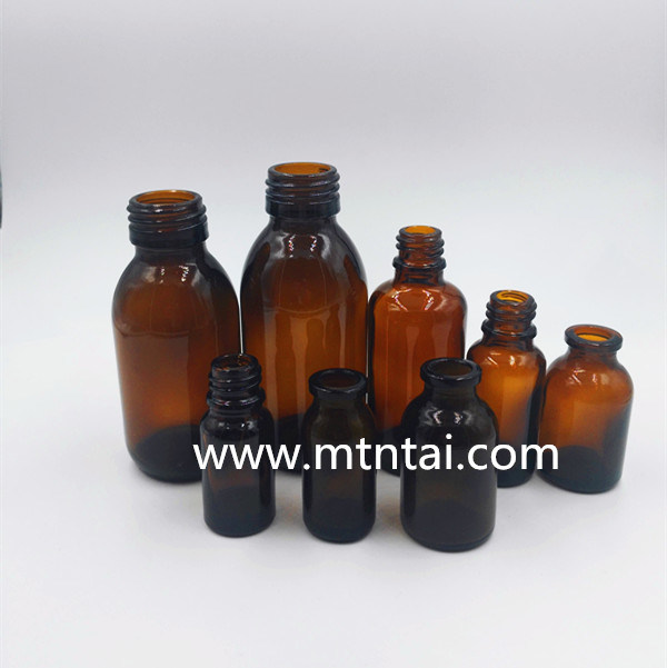 10ml Amber Color Moulded Injection Vials for Pharma Use