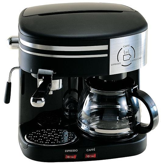 China 3 In 1 Espresso Cappuccino And Drip Coffee Maker (SA261-30) - China Home Appliances ...