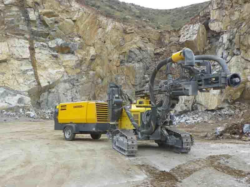 Atlas Copco 510cfm 14bar Portable Air Compressor for Mining