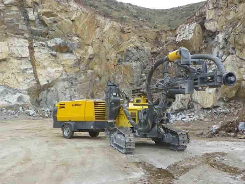 Atlas Copco 510cfm 14bar Portable Mining Diesel Air Compressor