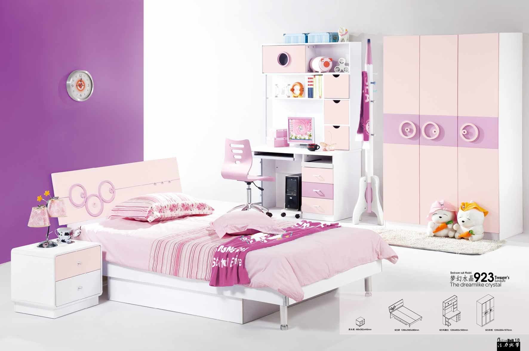 China Baby Bedroom Furniture 923 China Chirldren