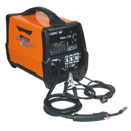 Portable Mig Welding Equipment at 135A for DIY. (MIG135P)