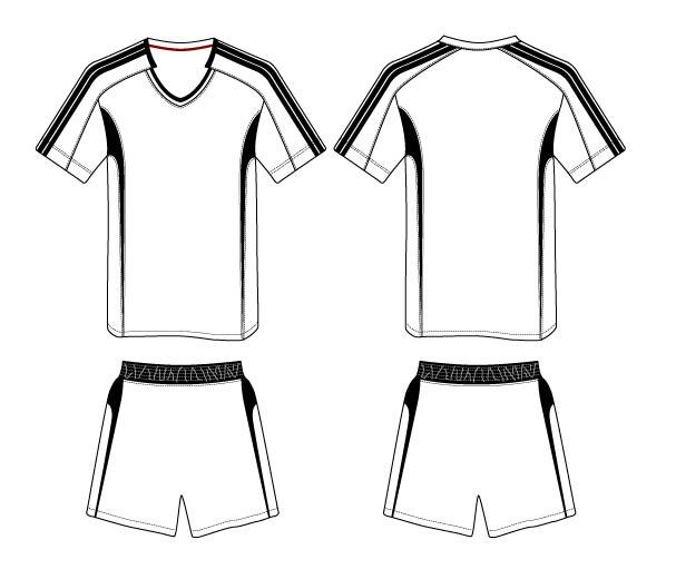 Soccer Jerseys Colouring Pages