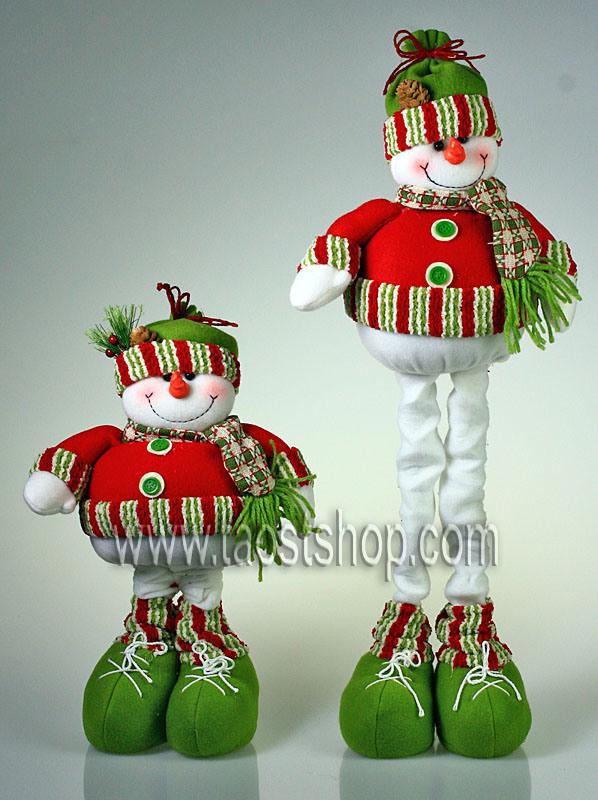 Cheap christmas decorations snowman photograph telescopic for Christmas snowman decorations