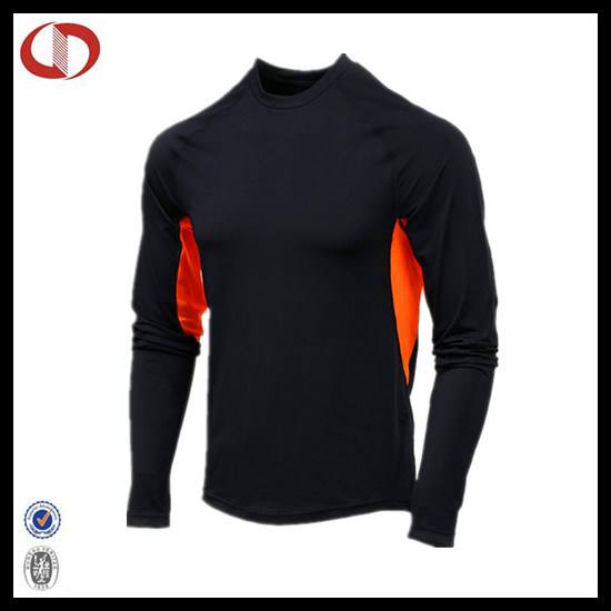Wholesale Mens Dri Fit Long Sleeve Running Tights Design