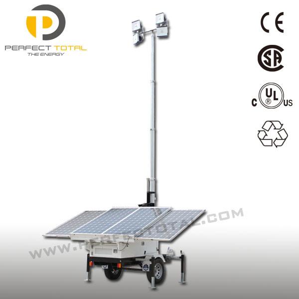 LED Mounted Solar Light Tower