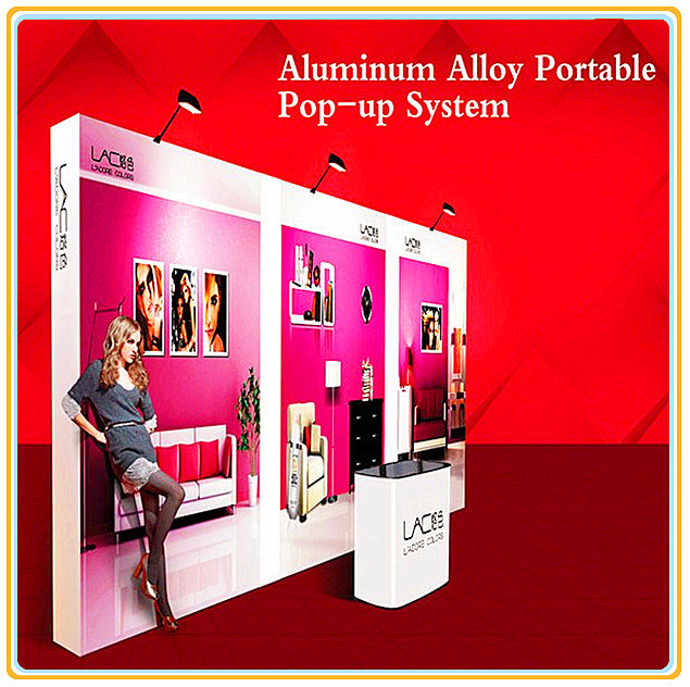 Easy 20ft Pop up Stand for Exhibition Display