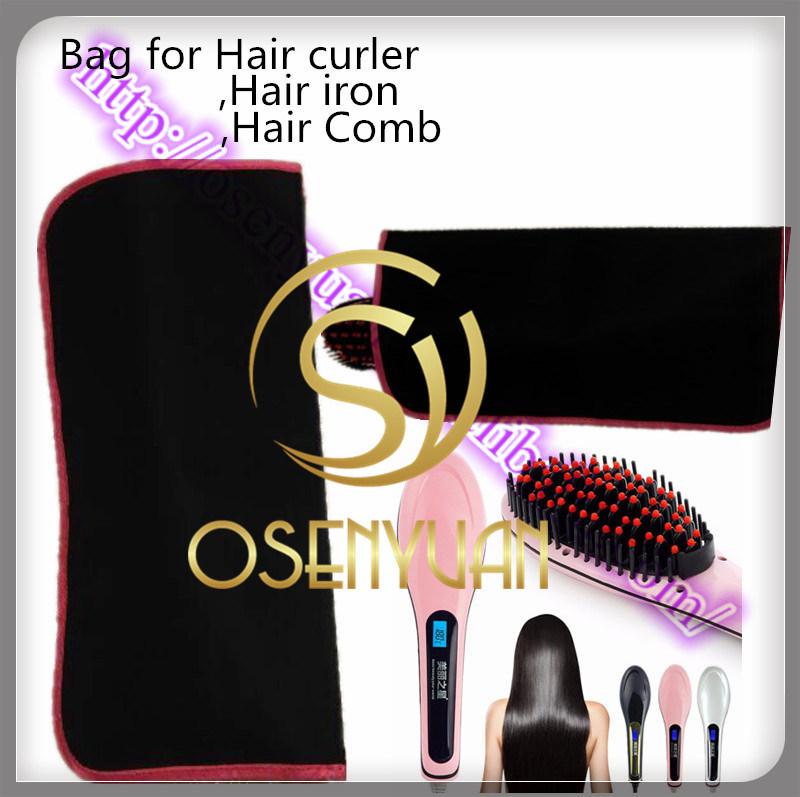 2015 New Bag for Hair Straightener Brush, Bag for Hair Curler, Bag for Hair Straightener Comb