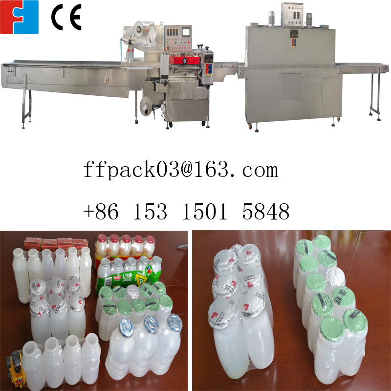 Automatic Beverage Bottle Shrink Wrapping/ Packing Machine with POF