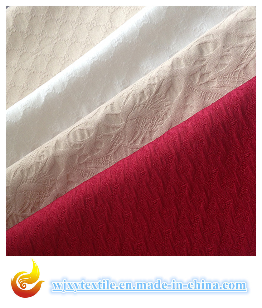 Jacquard Cotton Fabric for Coat (XY-V20150044C)
