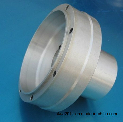 High Precision CNC Turned Aluminum Part for Motorcycle Component