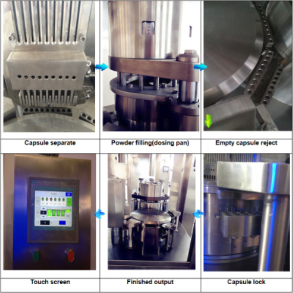 Automatic Hard Capsule Filling Machine