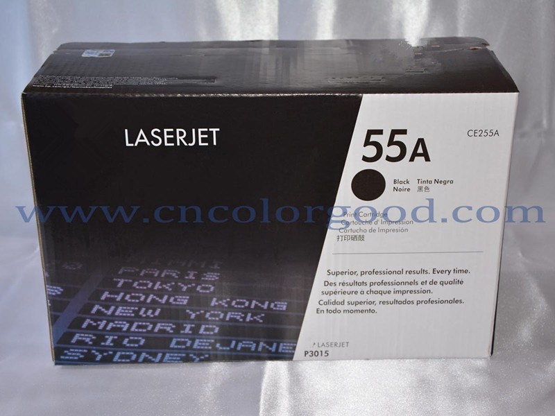 Wholesale Ce255A/55X Laser Toner Cartridge for HP Printer