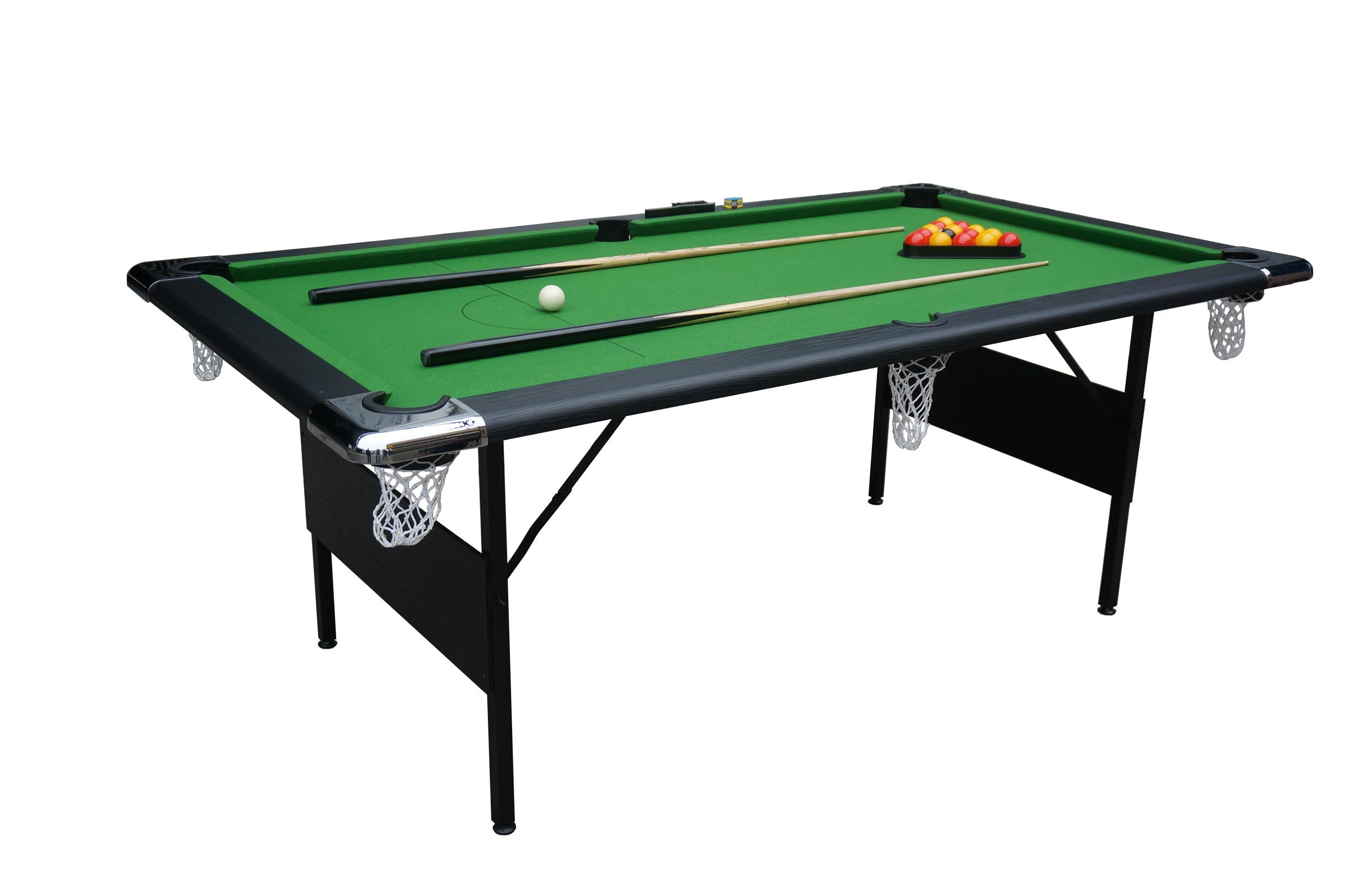 7′ Foldable Metal Leg Pool Table (P703)