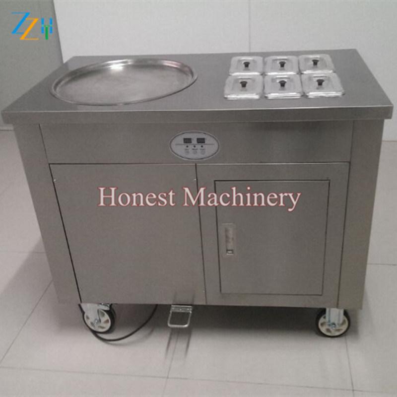 High Quality Pan Fried Ice Cream Machine with Low Price