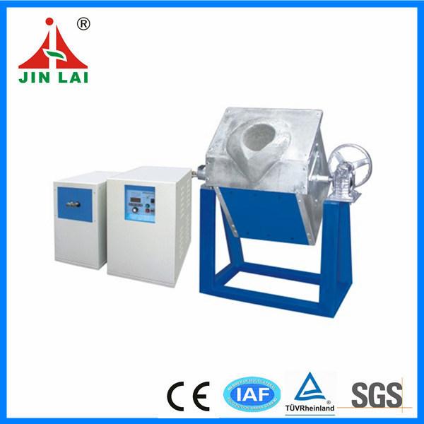 IGBT Silver Gold Melting Electric Induction Furnace (JLZ-15)