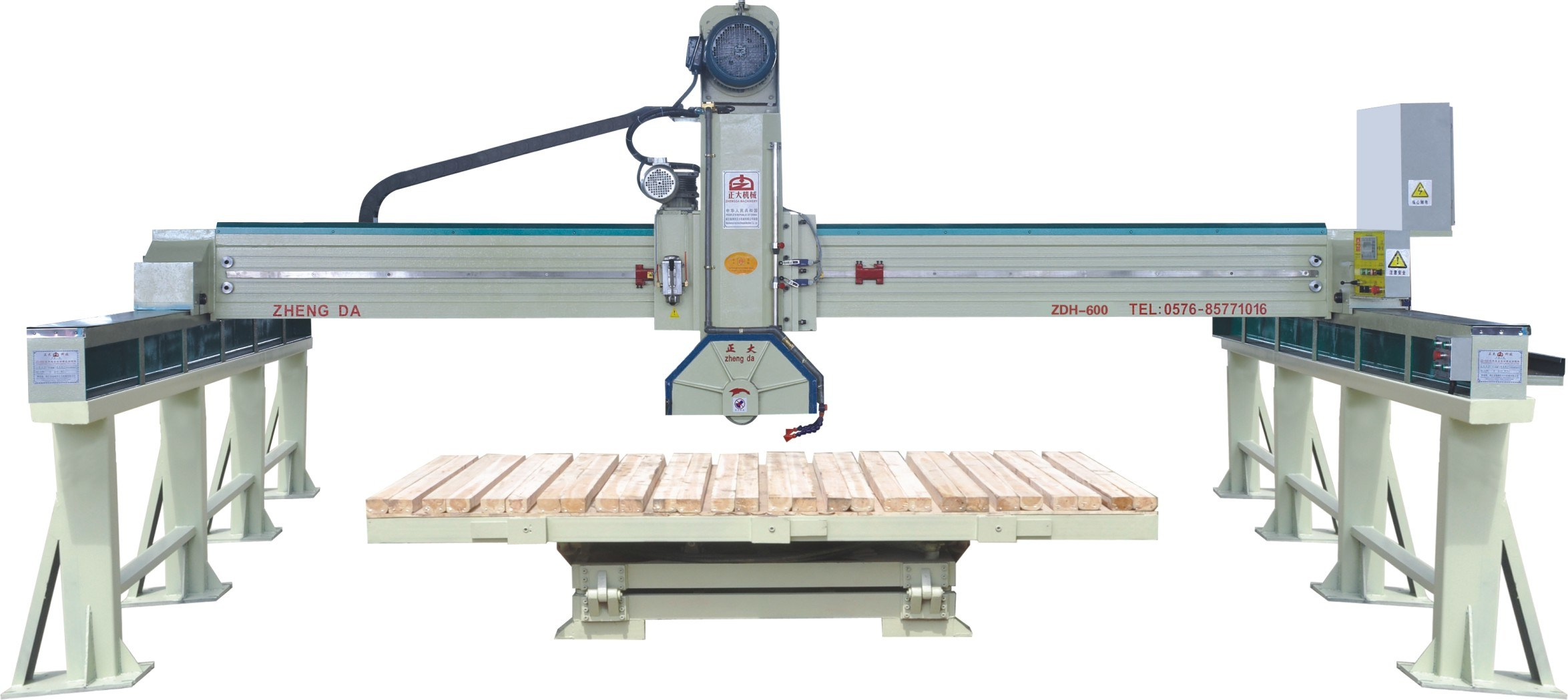 Automatic Bridge Saw with 45 Table Rotation (ZDH-600)