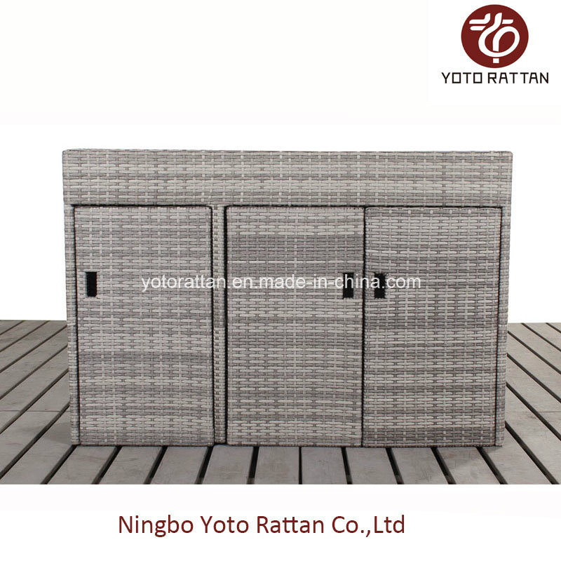 Rattan Shoe Cabinet with SGS Certificated 425