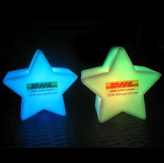Flashing LED Light with Logo Printed (4030)