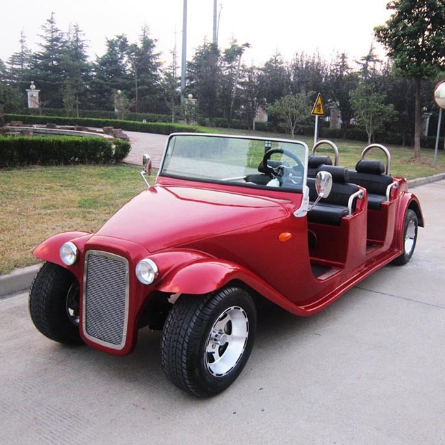 6 Seater Classic Electric Club Golf Car with CE (DN-6D)