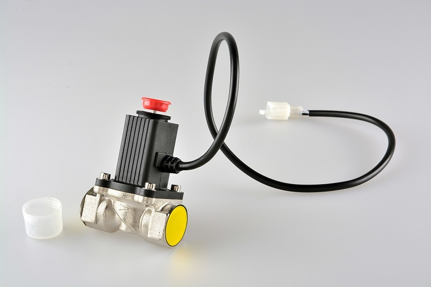 China Home Gas Leaking Detector with Solenoid Valve Dn20 Supplier