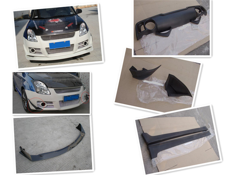 Carbon Fiber Body Kits for Suzuki Swift Gti 2006-2008
