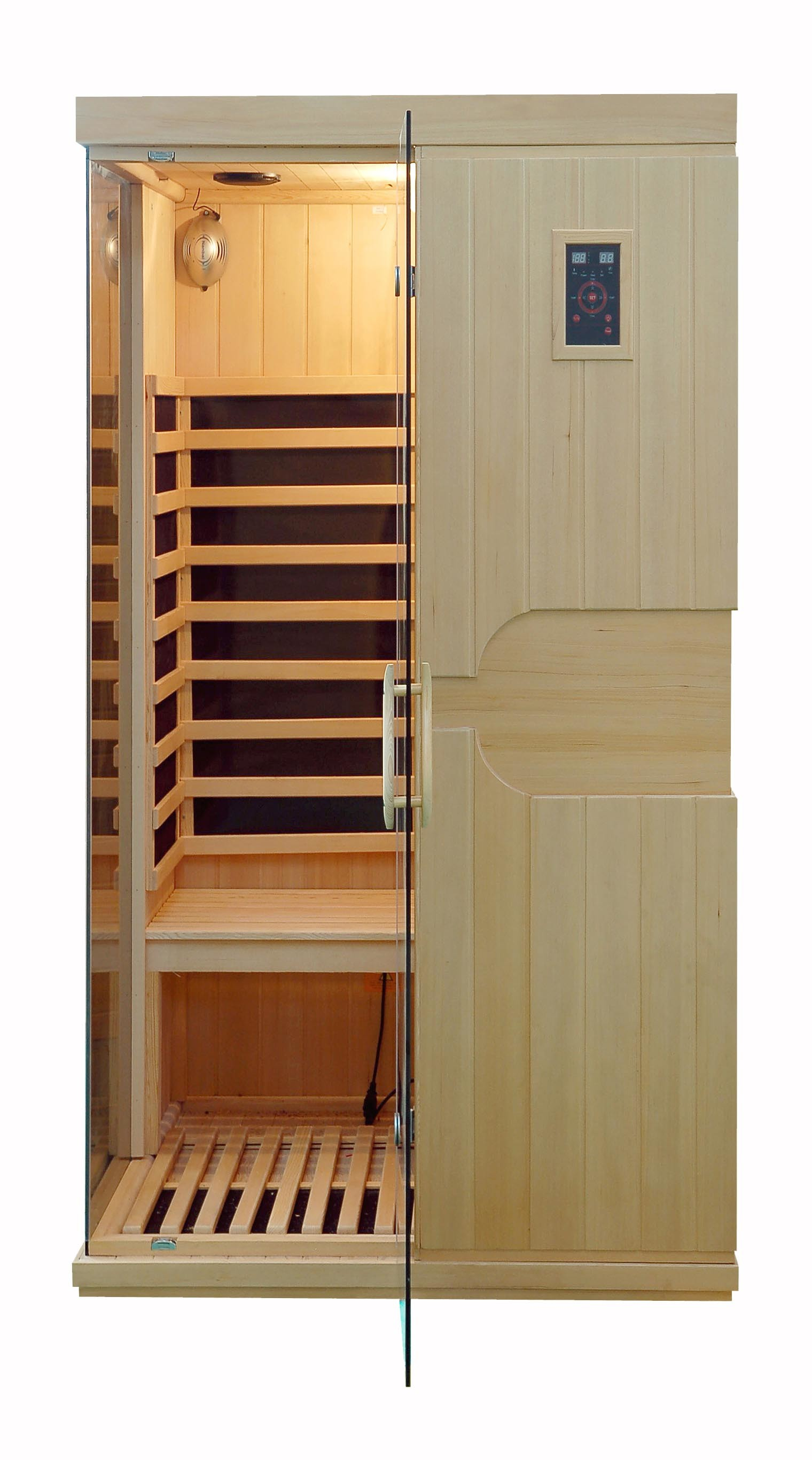 2016 New Hemlock Far Infrared Sauna Room with Carbon Heater