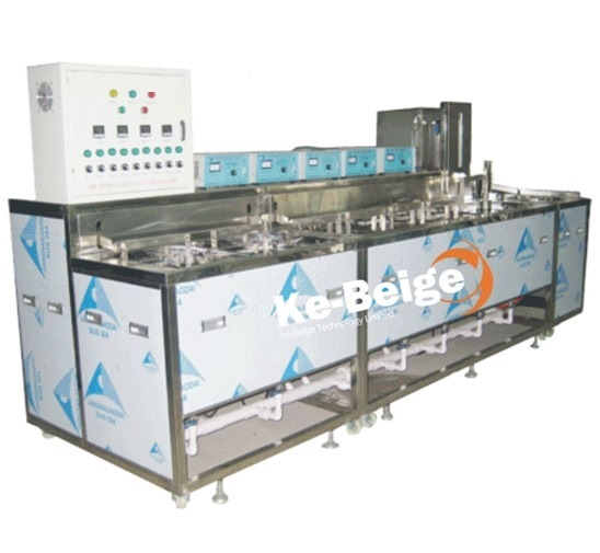 Metal Parts Ultrasonic Cleaning Machine with Spray Rinse