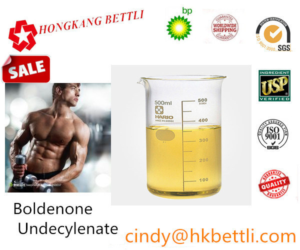 CAS 13103-34-9 Light Yellow Equipoise / Boldenone Undecylenate for Muscle Gain Steroid