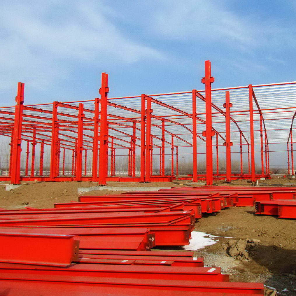 Durable and Low Cost Prefabricated Steel Structure Building