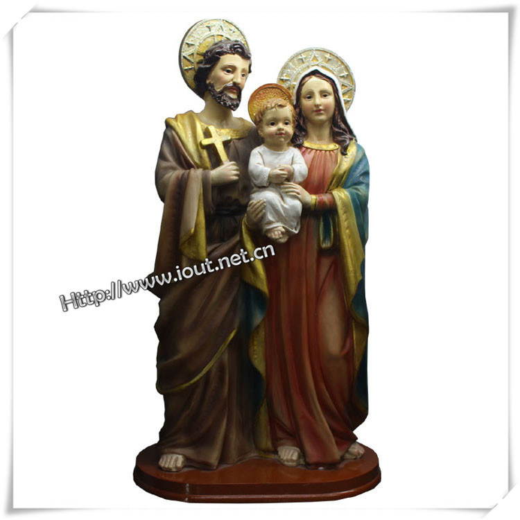 Polyresin Religious Baby Statue for Sale (IO-ca032)