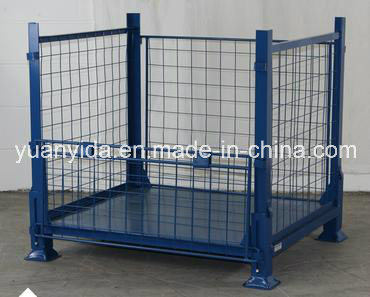 4-High Stackability Powder Coating Wire Container