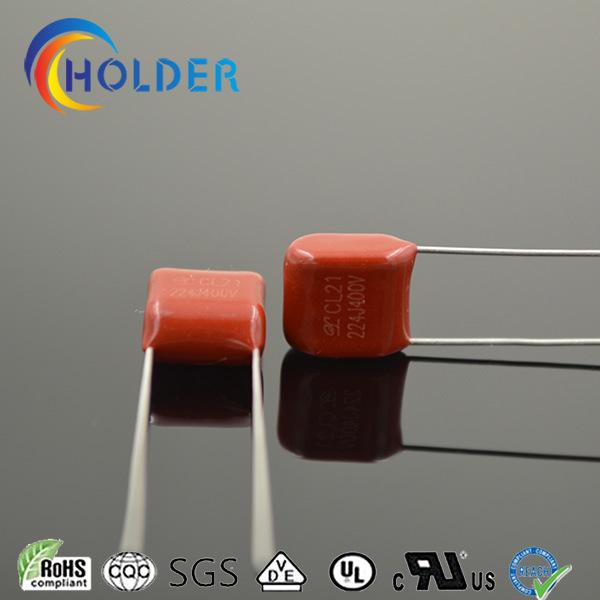 Metallized Polyester Capacitor (Cl21 224j/400V P=7.5)