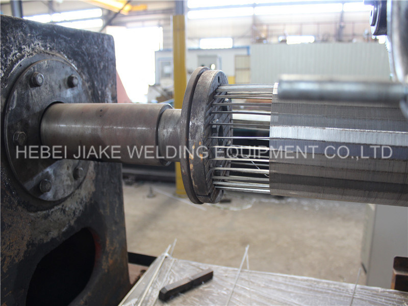Automatic Stainless Steel Wedged Wire Johnson Screen Welding Machine