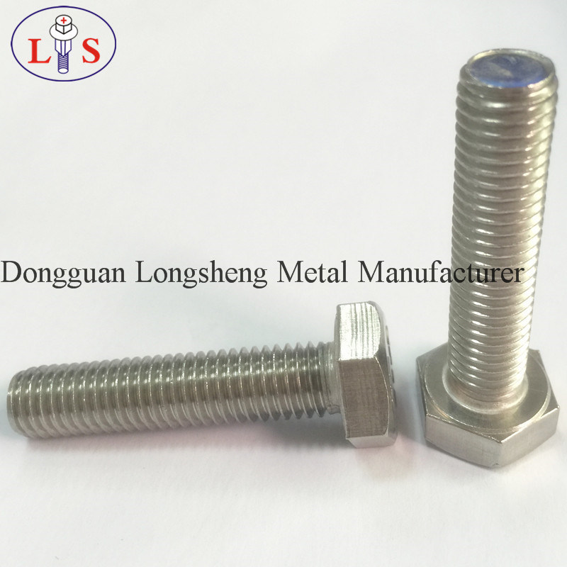 Ss 304 Hex Head Flange Bolt with Collar Serrated Bolt