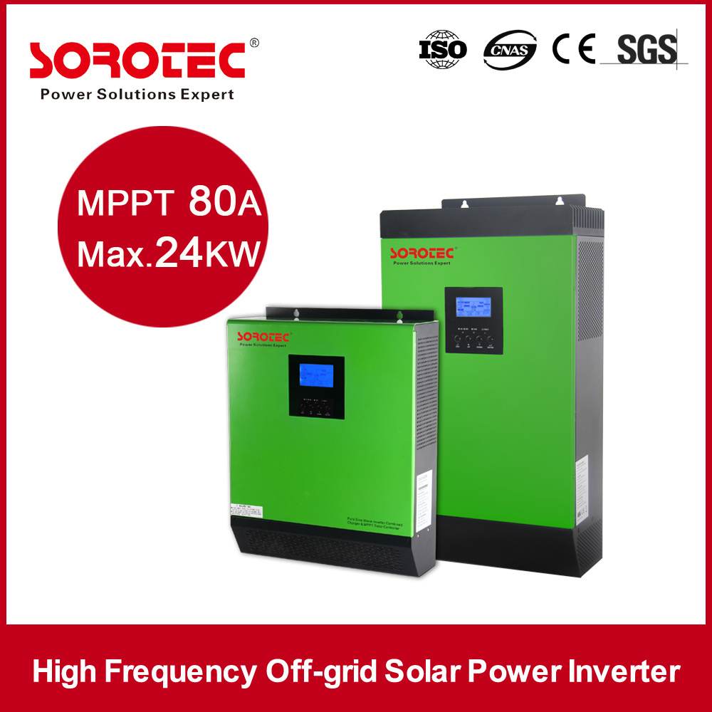 off-Grid Solar Inverter 2000va / 1600W 24VDC 50A Solar Charge Controller